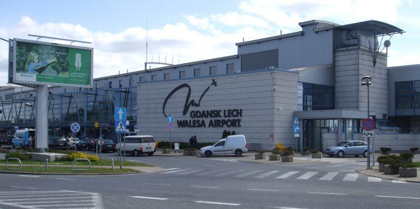 Вид аэропорта Гданьска
